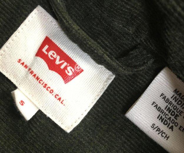 Новая вельветовая рубашка levi's. Фото 3.