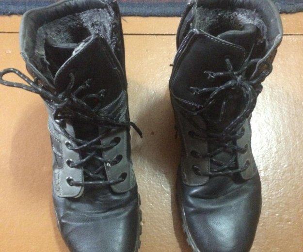 Мужские зимние ботинки. Фото 2.