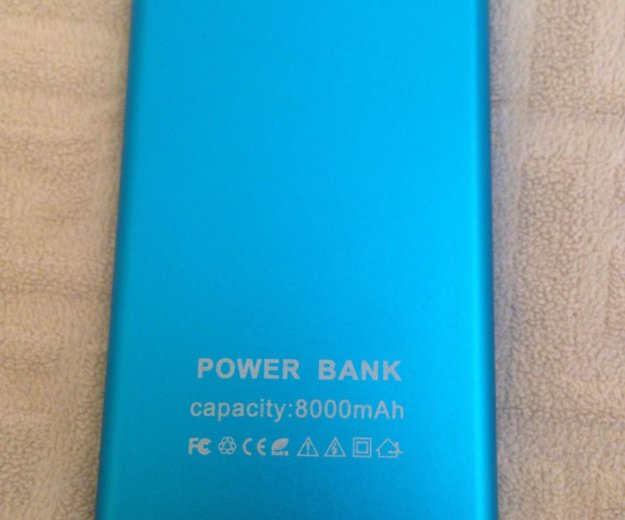 Портативное зарядное устройство power bank. Фото 2. Москва.
