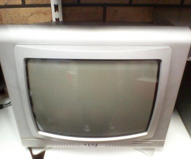 Продам телевизор горизонт. Фото 1.