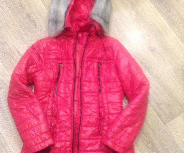 Куртка зимняя детская 10-12 лет. Фото 1. Волжский.