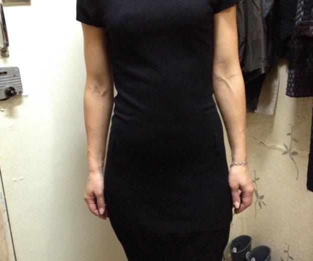 Платье трикотажное с карманами приятное к телу. Фото 1. Москва.