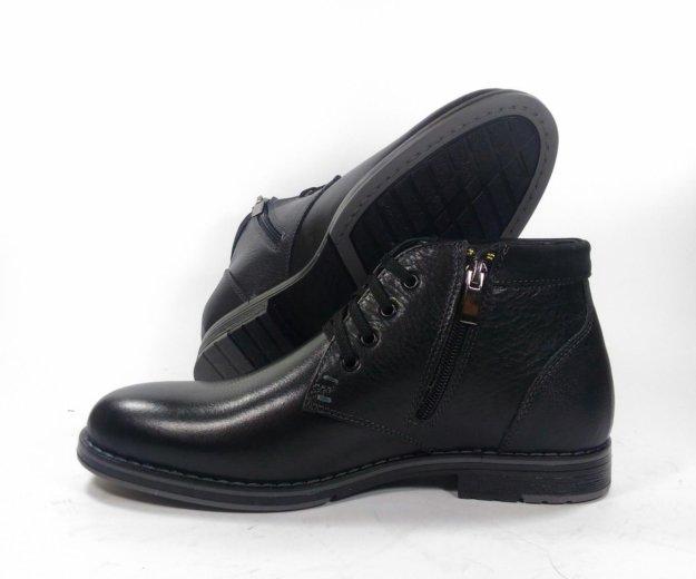 Мужские зимние ботинки номер 582. Фото 1. Москва.