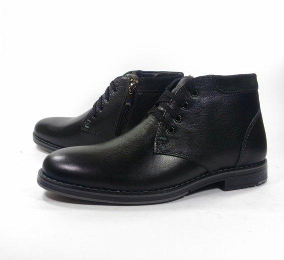 Мужские зимние ботинки номер 582. Фото 2. Москва.