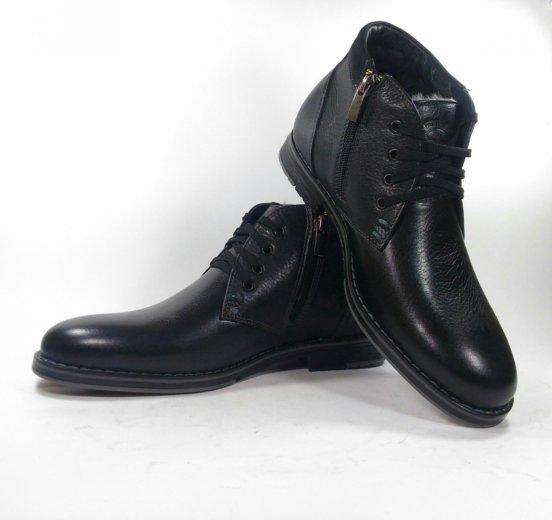 Мужские зимние ботинки номер 582. Фото 3. Москва.