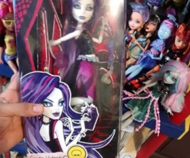 Спектра кукла монстр хай. Фото 1.