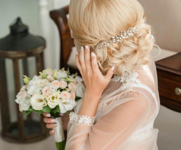 Свадебное украшение в причёску. Фото 2. Москва.