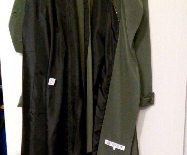 Пальто кримпленовое лёгкое. Фото 4.