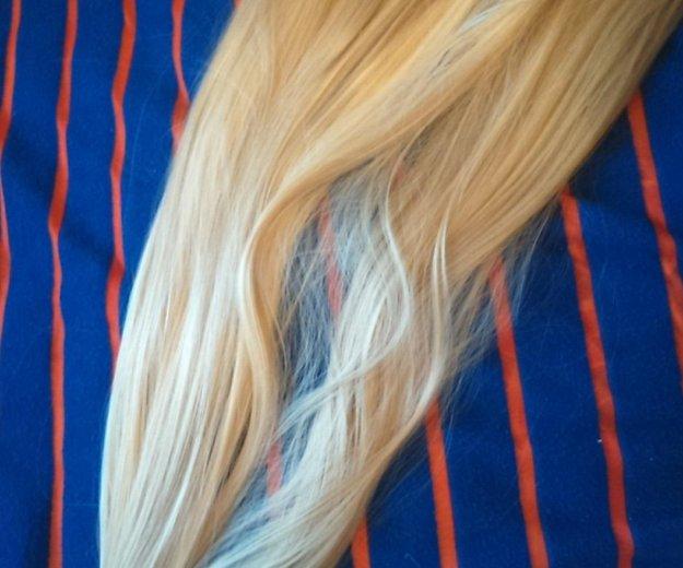 Искусственные волосы на заколках. Фото 1.
