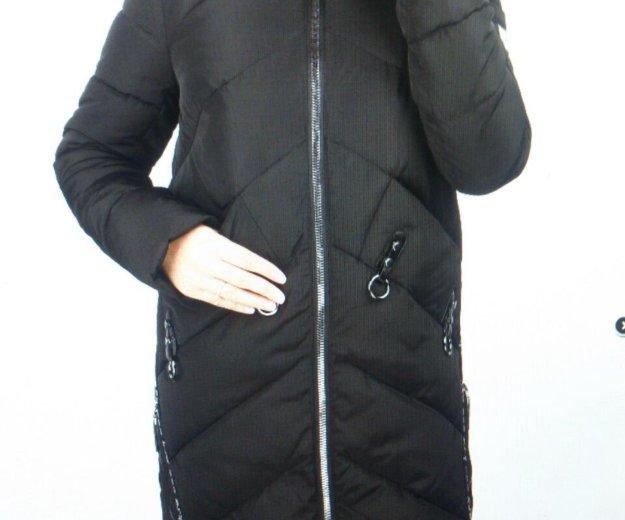 Новая зимняя куртка удлинненая. Фото 1.