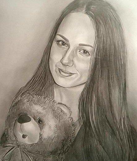 Портреты карандашом по фото. Фото 1. Санкт-Петербург.