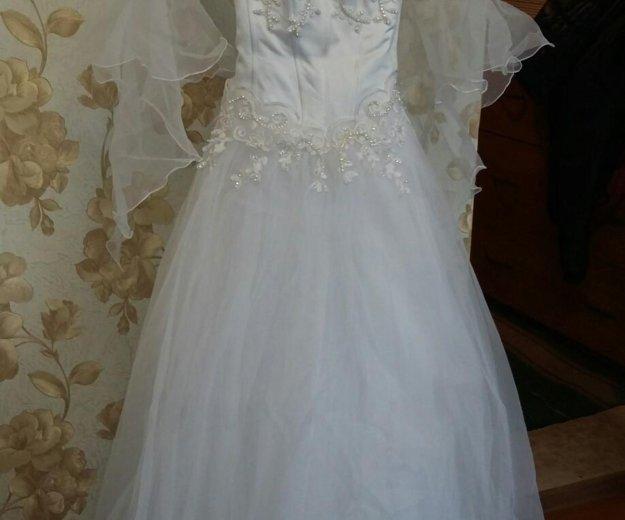 Свадебное платье. Фото 1. Ленинск-Кузнецкий.