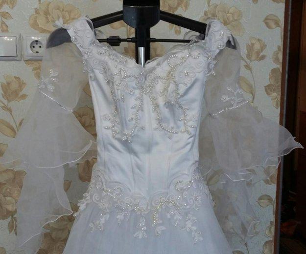 Свадебное платье. Фото 3. Ленинск-Кузнецкий.