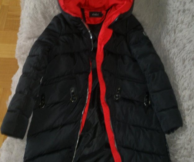 Новая зимняя куртка удлинненая. Фото 4.