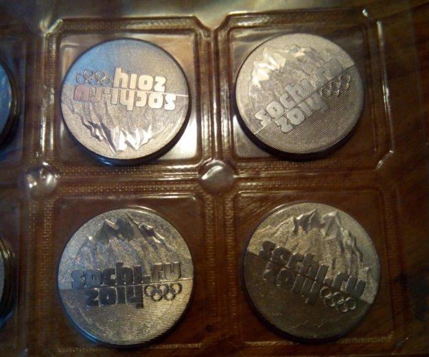 Монеты сочи 2014. Фото 2. Иркутск.