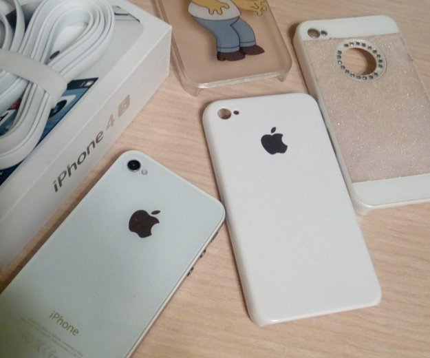 Айфон 4s, 16 gb, ios 9.3.5, оригинал. Фото 2. Кстово.