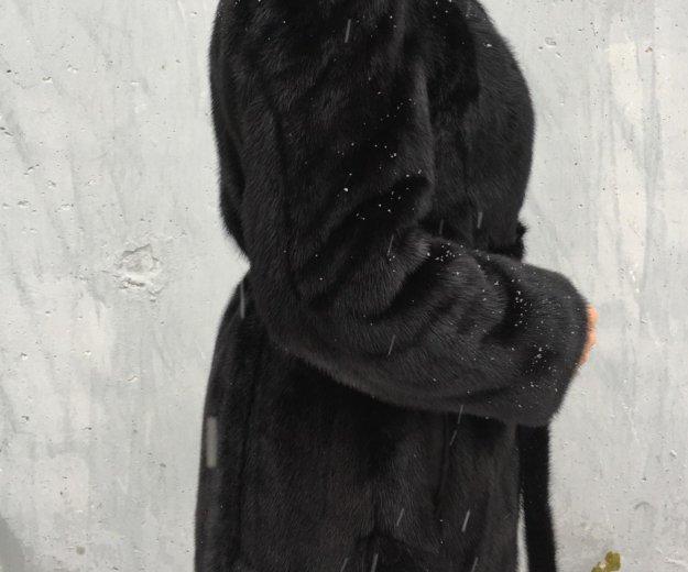 Шуба норковая. Фото 1.