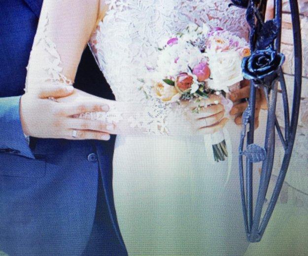 Свадебное платье ( одевала на регистрацию) торг. Фото 3. Альметьевск.