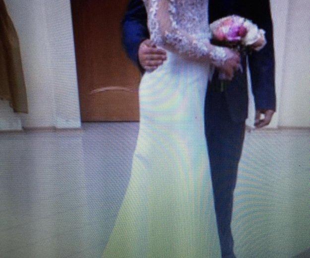 Свадебное платье ( одевала на регистрацию) торг. Фото 4. Альметьевск.