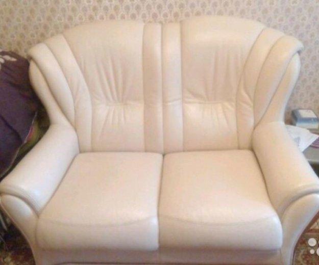 Натуральный кожаный диван. Фото 1. Санкт-Петербург.