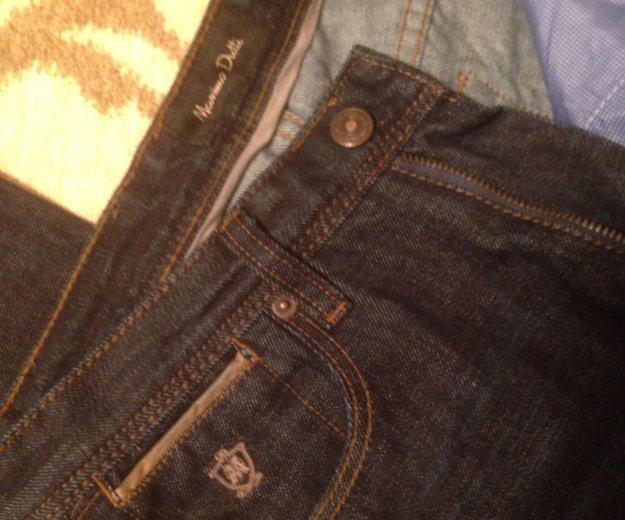 Тёмные джинсы massimo dutti slim fit. Фото 2. Москва.