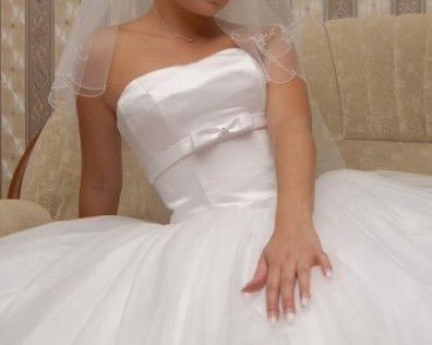 Платье свадебное + фата (новая) to be bride. Фото 2. Котельники.