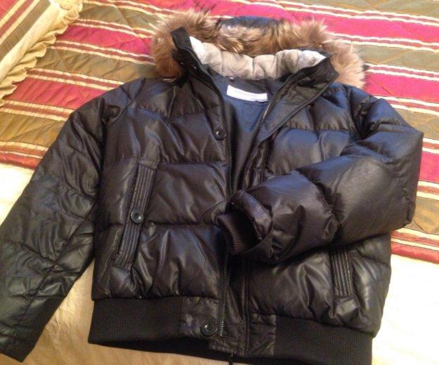 Куртка мужская чёрная фирмы baon. Фото 1. Москва.