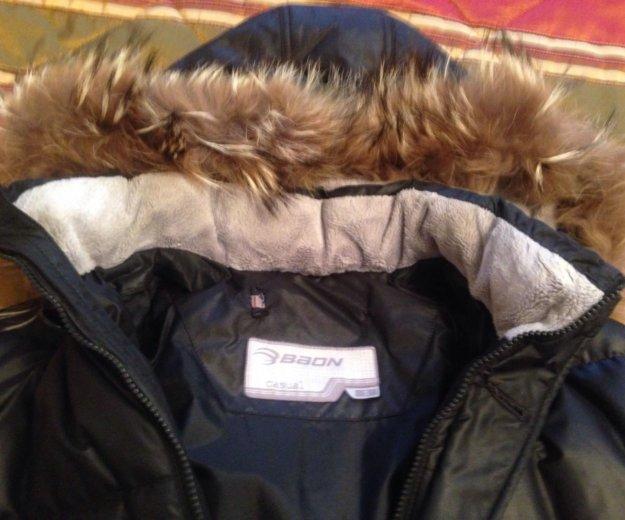 Куртка мужская чёрная фирмы baon. Фото 2. Москва.