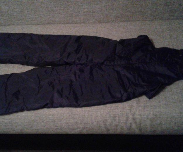 Утепленные брюки б/у, 48-50 рост 170. Фото 1. Москва.
