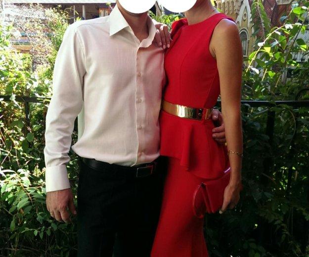 Вечернее красное платье. Фото 1. Краснодар.