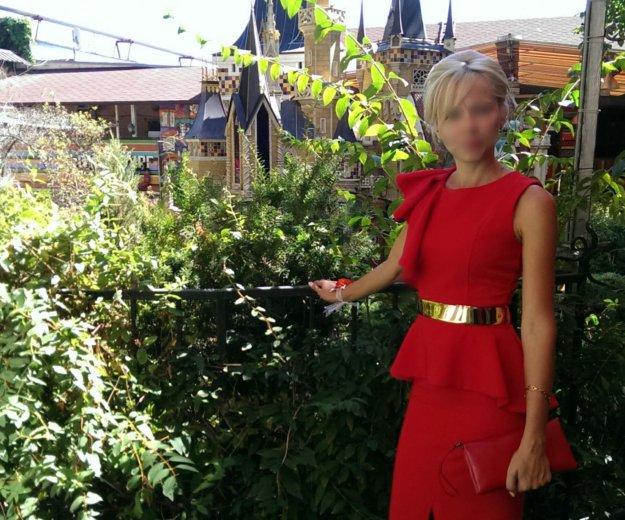 Вечернее красное платье. Фото 2. Краснодар.