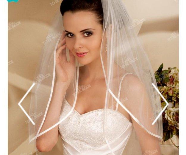 Платье свадебное + фата (новая) to be bride. Фото 3. Котельники.