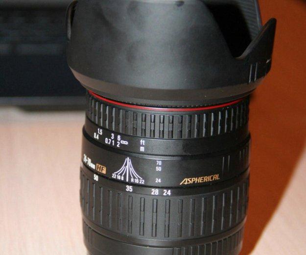 Продам объектив sigma 24-70 мм. Фото 3. Новосибирск.