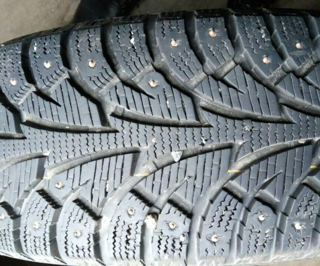 Комплект зимней резины на литых дисках r16/205. Фото 1. Тюмень.