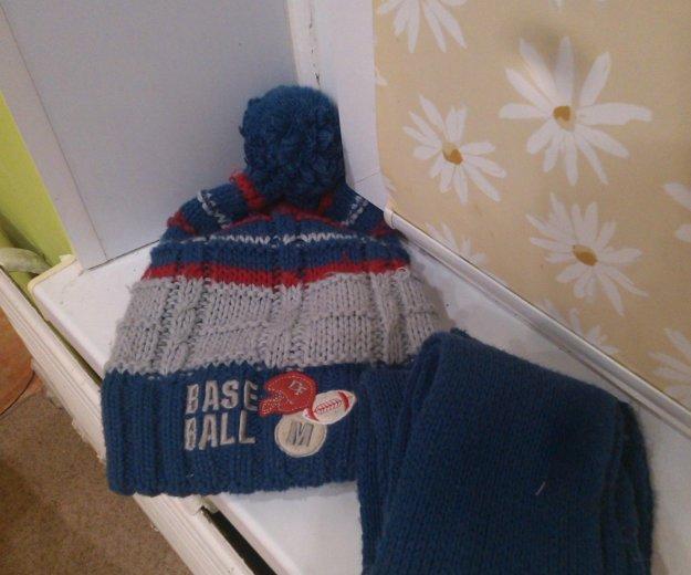 Шапка и шарф. Фото 1. Ижевск.
