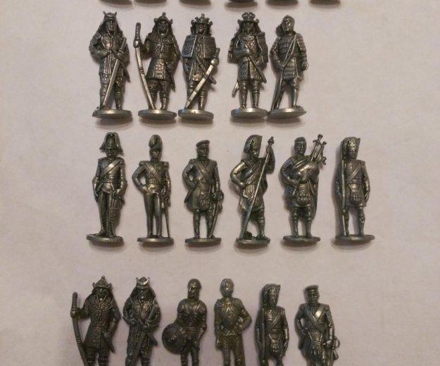 Солдатики киндер метал 23 штуки. Фото 1. Москва.