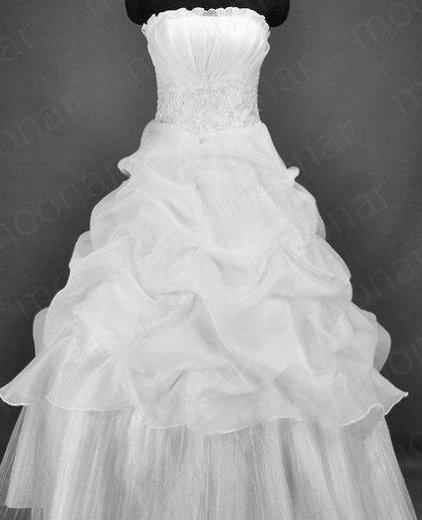 Новое свадебное платье р-р 46-48. Фото 1. Красноярск.