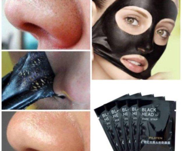 Чёрная маска для лица , карепрост. Фото 1. Североморск.
