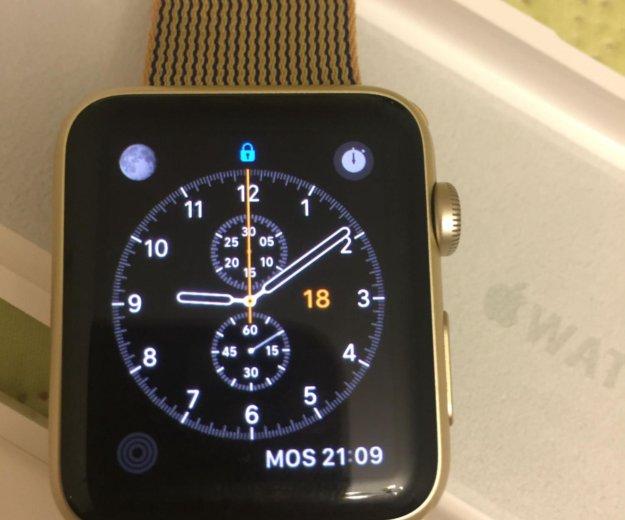 Часы apple watch sport 42 mm. Фото 1.