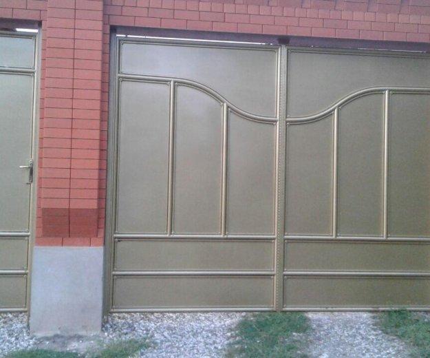 Ворота. Фото 1.