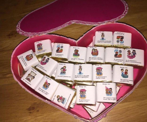 Сердце с конфетами. Фото 1. Владимир.