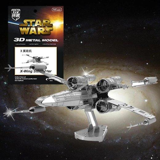 """Star wars 3d-пазл т-65 """"x-крылый истребитель"""". Фото 1. Санкт-Петербург."""