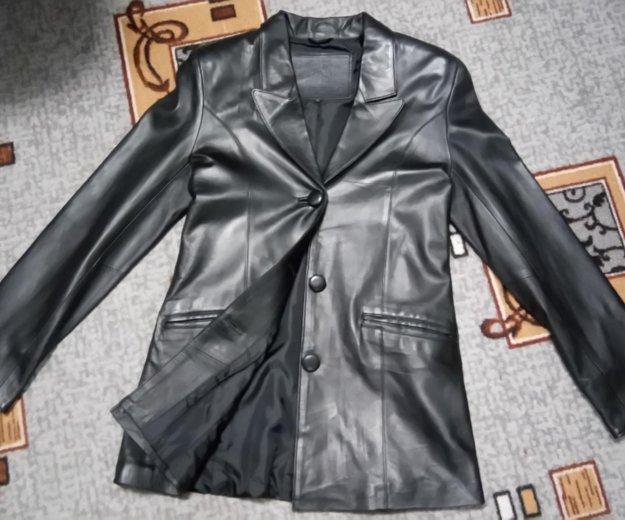 Пиджак кожаный. Фото 1. Пыть-Ях.