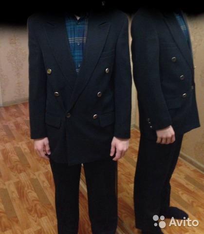 Костюм для подростка или не высокого мужчину. Фото 1. Омск.