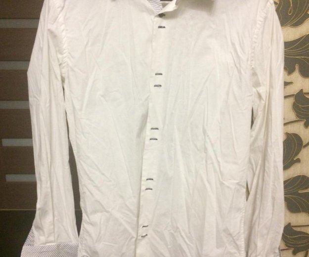 Мужская рубашка white cuff. Фото 1. Балашиха.