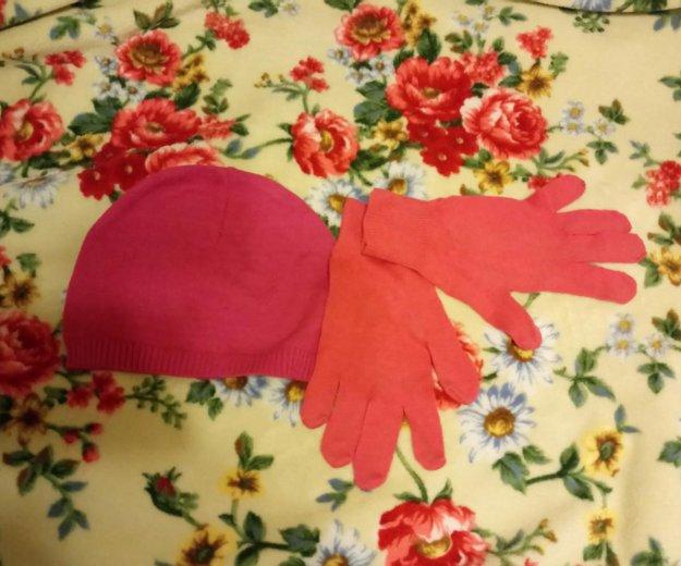 Шапка и перчатки. Фото 1. Санкт-Петербург.