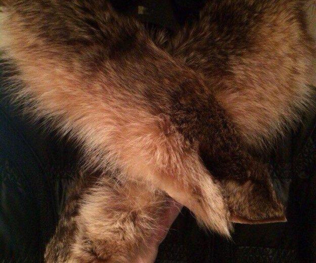 Курта с натуральным мехом. Фото 1.