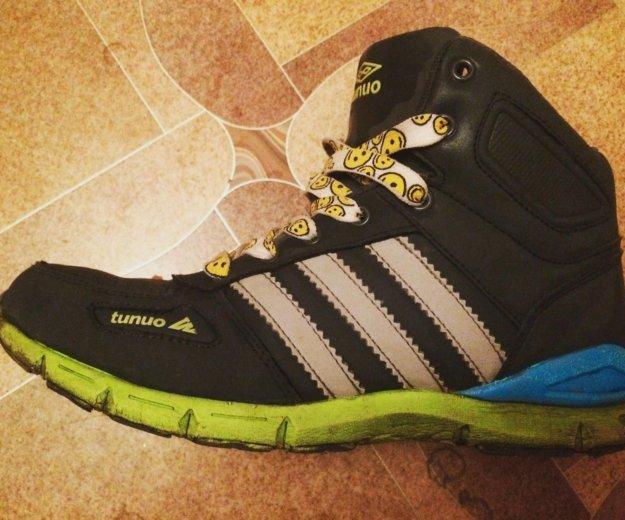 Кроссовки зимние ботинки 36 размер женские детские. Фото 1. Омск.
