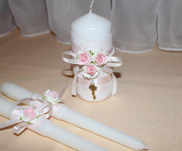 Свадебные свечи. Фото 1. Курск.
