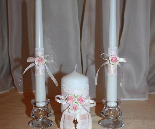 Свадебные свечи. Фото 2. Курск.